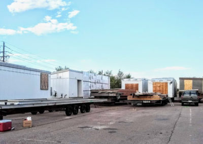 Modular Houses in Storage