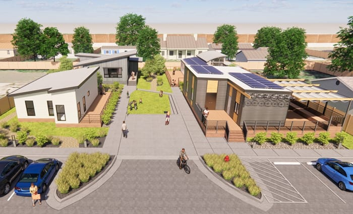 Eco Green Court demo project - creating public good
